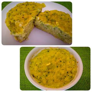Sufle de cartofi cu broccoli