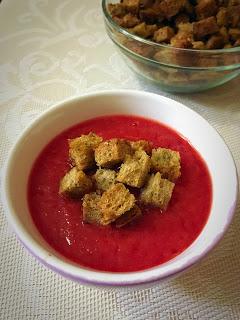 Supa crema de sfecla