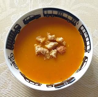 Supa de morcovi si ghimbir