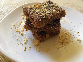 Desert cu quinoa si nuci