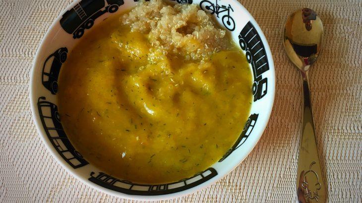 Piure de legume cu quinoa