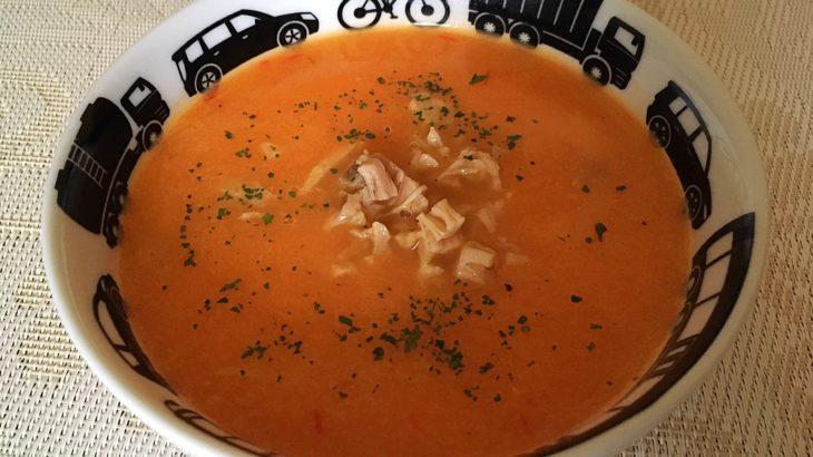 Supa de pui cu usturoi