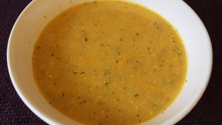 Supa-cre,ma de porumb cu marar