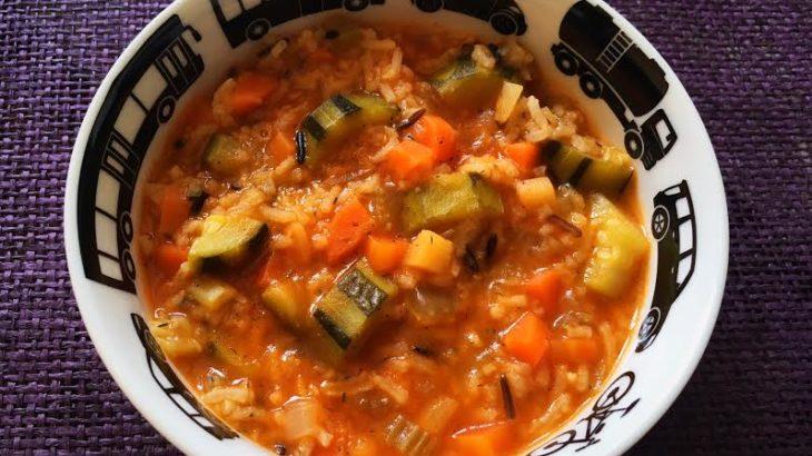 Tocanita de zucchini cu orez